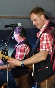 """Max Fenzl (links) und """"Jo"""" Eckerl von den Schmalzlern. Foto: Reiner Züll"""