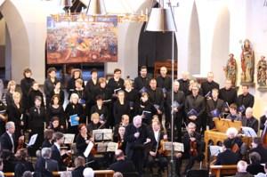 """Werke aus den Oratorien """"Paulus"""", """"Messias"""" und dem """"Weihnachtsoratorium"""" stehen in Schleiden auf dem Programm. Foto: Veranstalter"""