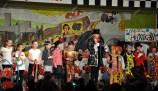 Kaller Kinder hatten mit Sandra Mertens eine bunte Zirkusshow einstudiert. Foto: Reiner Züll