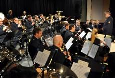 Das Landespolizeiorchester NRW konzertierte zum sechsten mal zugunsten der Hilfsgruppe Eifel im Gemünder Kursaal. Weit über 20.000 Euro hat das Ensemble bisher für den Kaller Förderkreis eingespielt. Foto: Reiner Züll