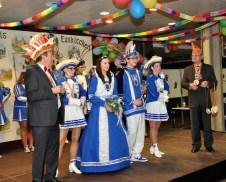 Das Jugendprinzenpaar der Schleidener Karnevalisten. Foto: Reiner Züll