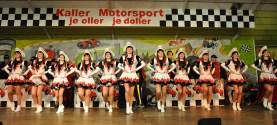 """Die aktuelle Formation der """"Kallbachmücken"""" tanzte zu Ehren der Prinzessin, die auch Trainerin der Garde ist. Foto: Reiner Züll"""