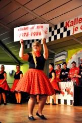 """Prinzessin Maike I. beim Revival in ihrer Funktion als ehemalige """"Kallbachmücke"""". Foto: Reiner Züll"""
