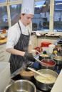 Jan Hendrick Wolfgarten belegte den zweiten Platz bei den Köchen. Foto: Reiner Züll