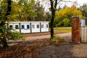 Asylcontainer in LVR-Freilichtmuseum/ BIld: Veranstalter