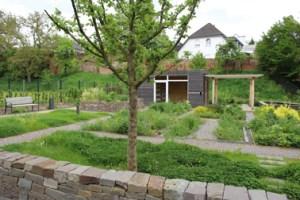 Hier soll demnächst gemeinsam gegärtnert werden - ein ehemaliges Grundstück im Freizeitgarten der LAGA./ Bild: Veranstalter