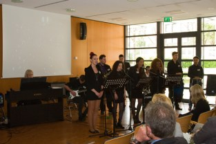 KSK Stiftungsabend 2016 Thomas Esser Band 1