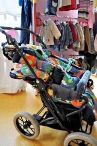 """Im """"Kinderkram"""" gibt es nicht nur Materielles rund ums Kind, sondern auch Betreuung. Bild: Carsten Düppengießer"""