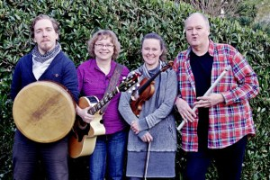 "Die Band ""Folk and Fun"" gastiert in Schönau. Bild: Privat"