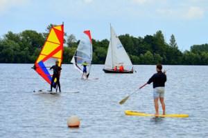 Am Sonntag kann man sich auf dem Zülpicher Wassersportsee mit verschiedenen Wassersportarten vertraut machen. Bild: Gartenschaupark Zülpich
