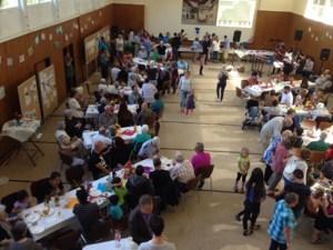 Die Gemeinschaft von alten und neuen Bürgern wurde in Blankenheim gefeiert. Foto: Günter Schäfer