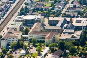 Das Kreiskrankenhaus Mechernich aus der Luft. Archivbild: Tameer Gunnar Eden/Eifeler Presse Agentur/epa