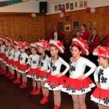 Auch der Garden-Nachwuchs tanzte zu Ehren des betagten Geburtstagskindes. Foto: LB