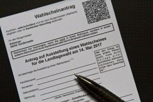 Wer nicht persönlich ins Wahllokal gehen möchte, kann per Briefwahl wählen. Bild: Tameer Gunnar Eden/Eifeler Presse Agentur/epa