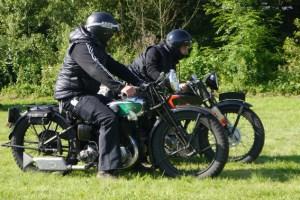 """Historische Motorräder fahren wieder """"Rund um Bad Münstereifel"""". Bild: Veranstalter"""