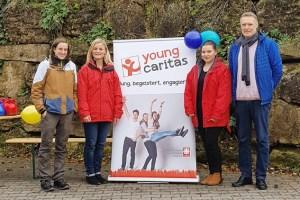 Am Stand der youngcaritas gab es Kaffee gegen eine kleine Spende. Bild: Caritas