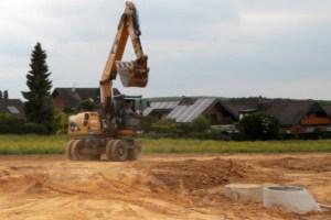 Bei den Baugebieten im Kreis Euskirchen herrscht rege Nachfrage. Symbolbild: Michael Thalken/Eifeler Presse Agentur/epa