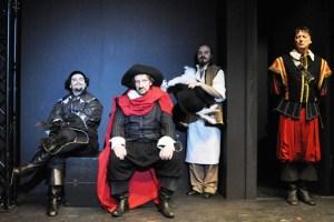 "Das Grenzlandtheater Aachen zeigt in Gemünd ""Cyrano de Bergerac""Bild: Kerstin Brandt"