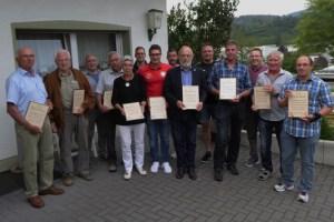 Spielgemeinschaft Oleftal bestimmte neuen Vorstand. Bild: Harry Kunz