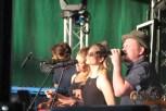 Sänger Heen samt Band sorgte für die Betriebstemperatur des Festivals. Bild: Michael Thalken/Eifeler Presse Agentur/epa