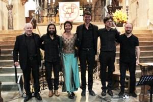 Für seine Darbietungen erhielt das Avram-Ensemble großen Applaus und wurde erst nach einer Zugabe von der Bühne entlassen. Bild: Michael Thalken/Eifeler Presse Agentur/epa