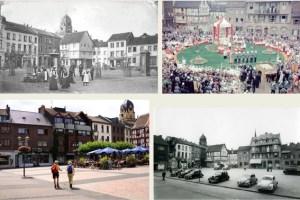 Auch der Alte Markt im Herzen der Stadt Euskirchen hat im Laufe der Zeit sein Gesicht mehrmals geändert. Fotos: Kreis-Geschichtsverein