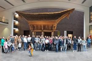 Beim Familientag des KoBIZ erkundeten die Teilnehmenden unter anderem das Rautenstrauch-Joest-Museum in Köln. Foto: privat