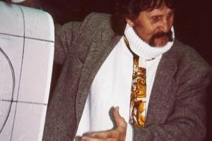 Anlässlich seines 90. Geburtstages veranstalten die Römerthermen Zülpich eine Ausstellung mit Werken des deutschen Designers Luigi Colani. Foto: Marcus Hofmann