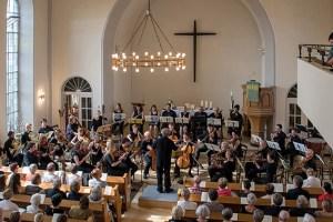 Bereits im vergangenen Jahr begeisterte das Sinfonische Orchester Euskirchen das Publikum. Archivbild: Hanna Bender