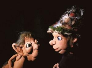 Zwei gute Freunde Hörbe (r.) und Zwottel. Bild: Vera Wunsch/www.rosenfisch.de
