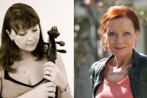 Natalia Kazakova (link) und Sybille Kuhne gestalten den Rilke-Abend. Bild: Veranstalter