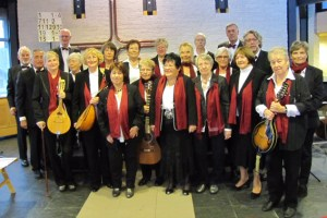 """Die """"Zupfmusikfreunde Heimbach"""" haben ein abwechslungsreiches Konzert einstudiert. Bild: Privat"""