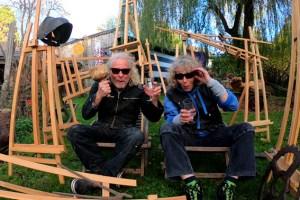 Ralph Kleiner und Birgit Sommer laden zu einer Werkschau ein. Bild: Privat