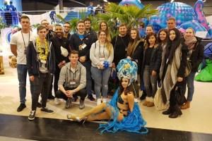 Die Studierenden der WFT erhielten in Dortmund Einblicke in die Event-Industrie. Bild: Corinna Mehl
