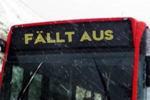 Verkehrsunternehmen haben besonders durch durch den Ausfall des Schulverkehrs zu leiden. Symbolbild: epa