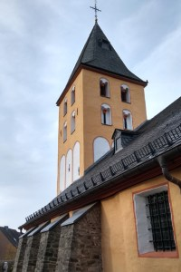 Die Kirche St. Georg in Frauenberg ist eines der Ziele beim Dorfrundgang mit Hans-Gerd Dick am 3. Oktober. Foto: Geschichtsverein