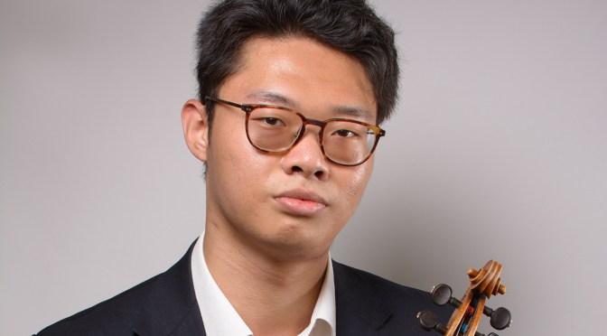 Der Geigenvirtuose Po Fan Chen ist zu Gast in Monschau. Foto: Konzertdirektion Koltun