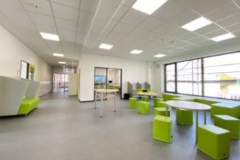 Offene Lernbereiche bieten künftig die Möglichkeit des individuellen Lernens. Bild: Stadt Schleiden / Kerstin Wielspütz