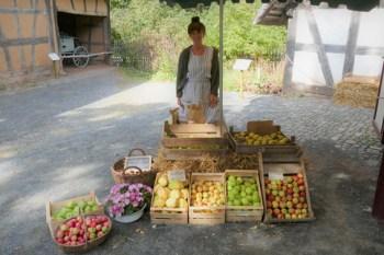Im Tante Emma Laden gibt es derzeit auch noch viel ungepresstes Obst. Vanessa Sterner/ LVR