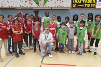 Seit fünf Jahren kümmert sich Jugendtrainer Harry Kunz erfolgreich um geflüchtete Kinder. Bild: Privat