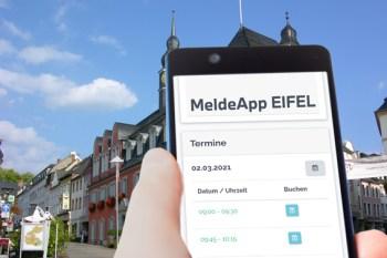 Mit der MeldeApp Eifel kann man seine Shpopping-Termine vorab buchen. Symbolbild: Eifel Tourismus GmbH