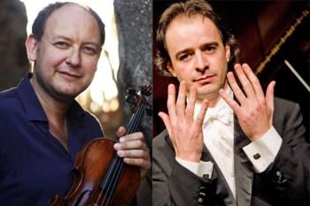 Der russische Geiger Vadim Tchijik (links) und der Pianist Alberto Urroz gastieren in Heimbach. Bild: Konzertdirektion Koltun