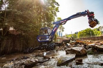 Nach der Flutkatastrophe folgte das große Anfassen, wie hier vom THW. Wichtig für den Wiederaufbau sind aber auch die Geldspenden. Bild: Maximilian Christ/THW