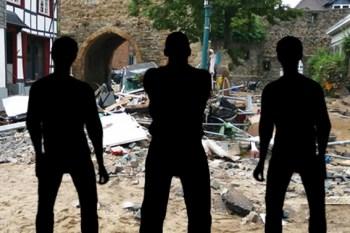 Immer mehr Katastrophentouristen fallen in den Kreis Euskirchen ein. Die Polizei fragt in Kontrollen nach dem berechtigten Interesse. Symbolbild: epa