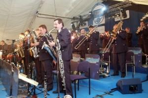 Garant für gute Musik: Die Big Band der Bundeswehr spielt in Bad Münstereifel für die Piéla-Hilfe. Archivbild: Michael Thalken/Eifeler Presse Agentur/epa