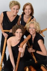 "Das Quartett ""Flautando"" hat bereits neun CDs eingespielt. Bild: Bernhard Schmidt"