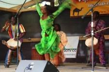 """Die Gruppe """"Mama Afrika"""" will dem Publikum erneut kräftig einheizen. Bild: Interkultur"""