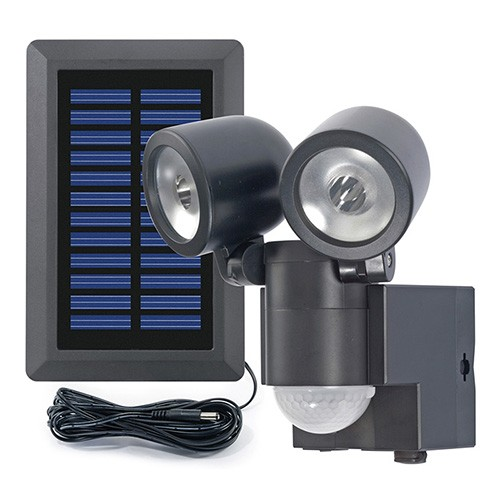 Solar LED Strahler Duo B