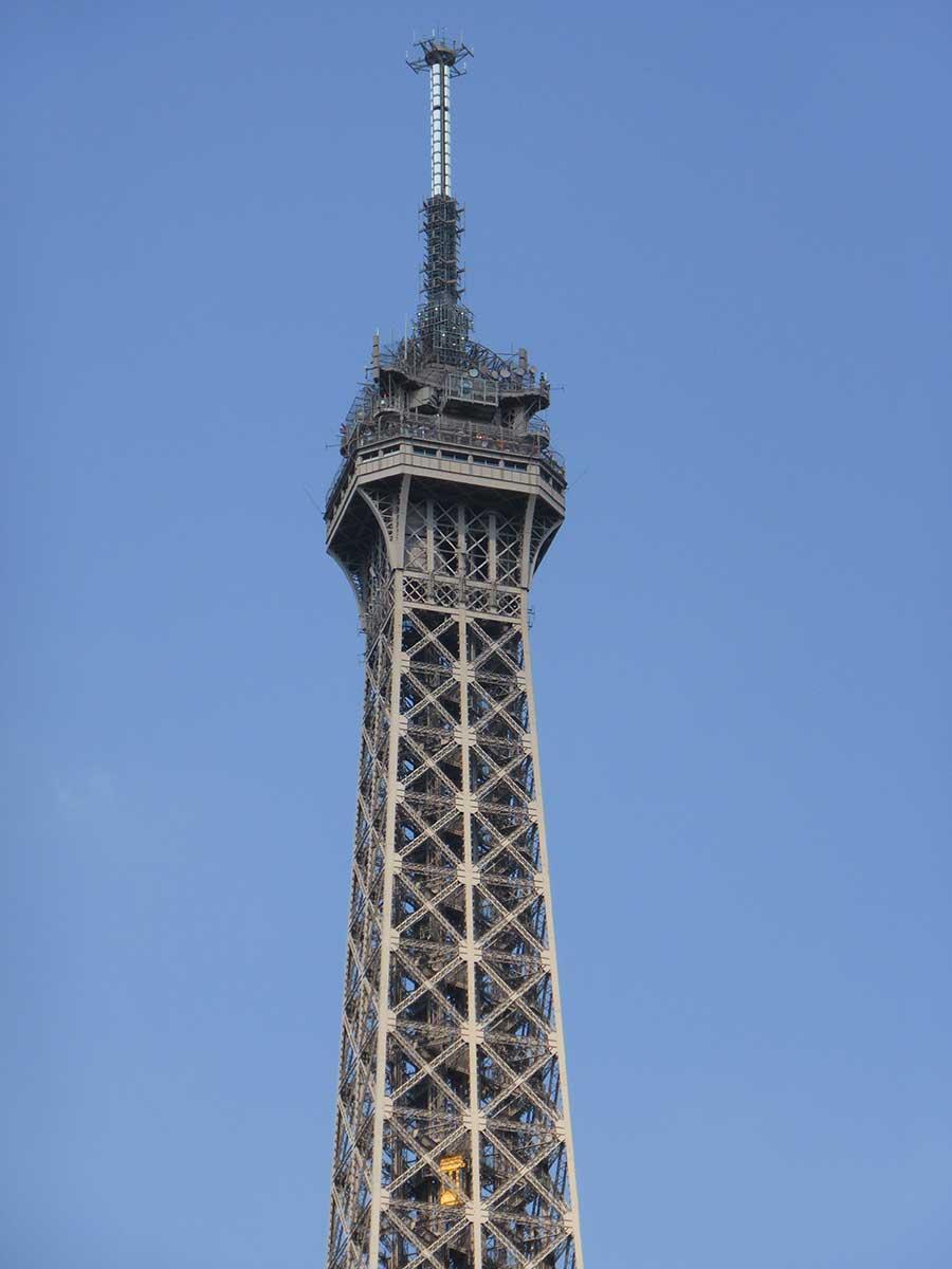 Eiffelturm Spitze 3 Etage  Eiffelturm Paris