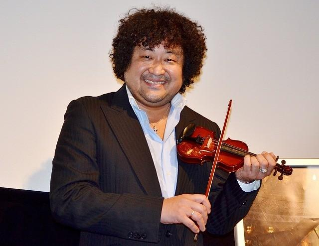 葉加瀬太郎、愛娘のバイオリン指導は「家內に任せている」 : 映畫ニュース - 映畫.com
